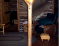 Twisted fir tree lamp